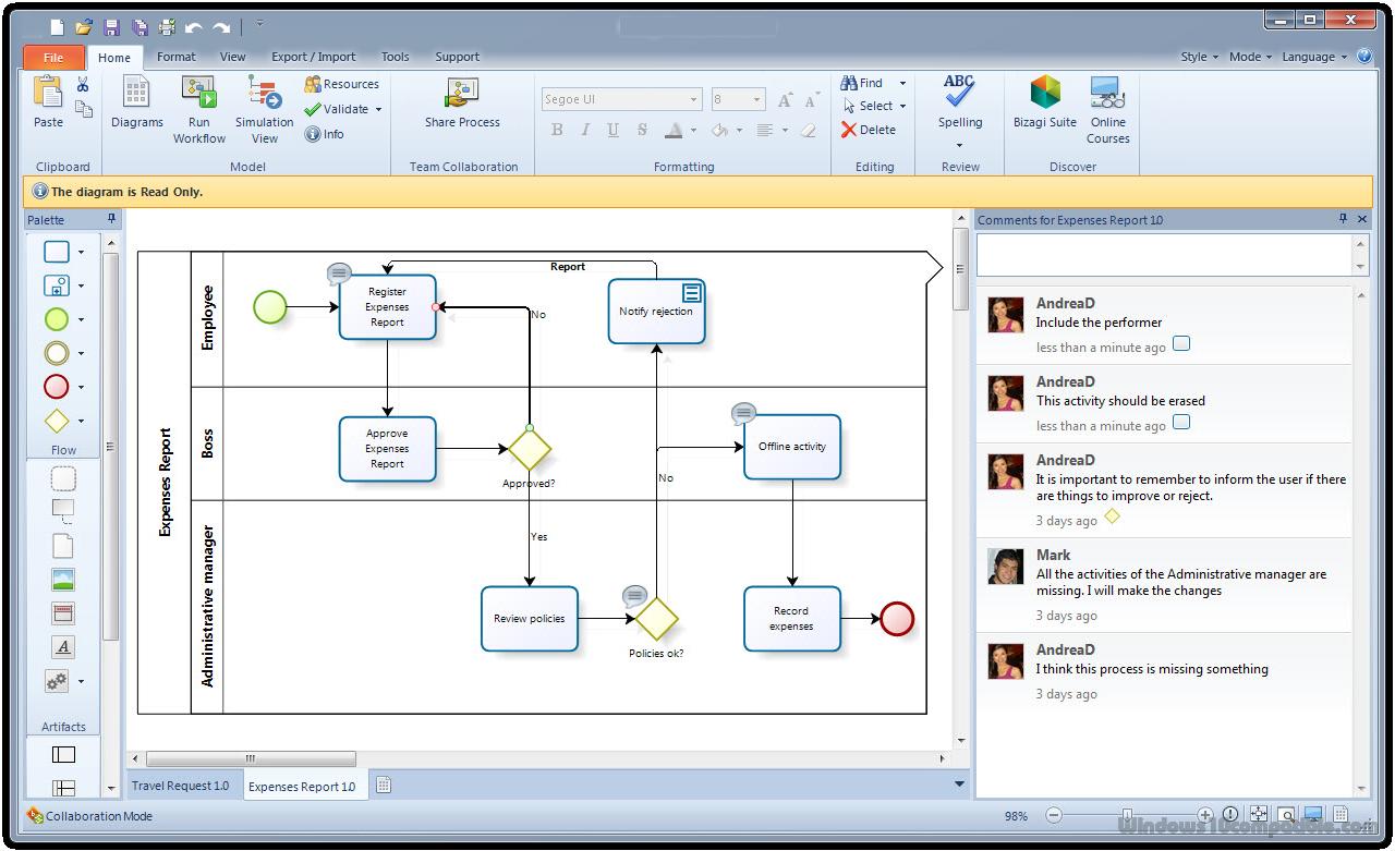 Bizagi Process Modeler 2 7 Free Download